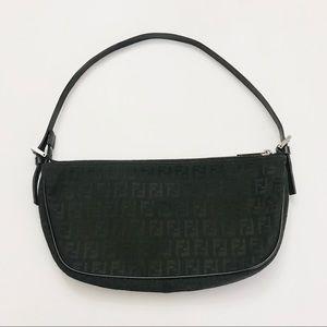 Authentic Vintage Fendi FF Momogram Shoulder Bag